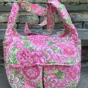 Retired Petal Pink Vera Bradley messenger bag